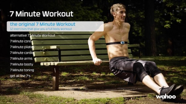 7 minute workout