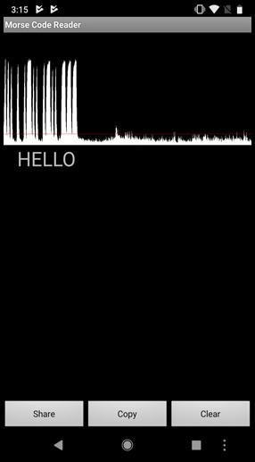 morse code translator