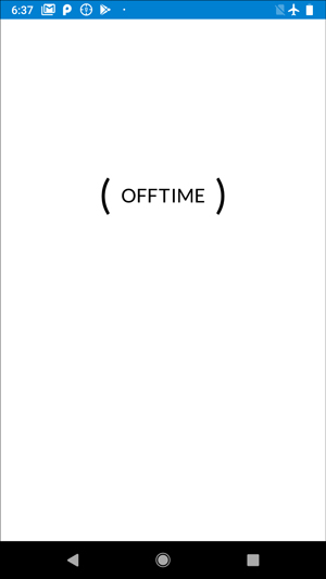 OFFtime--apps to keep you off your phone