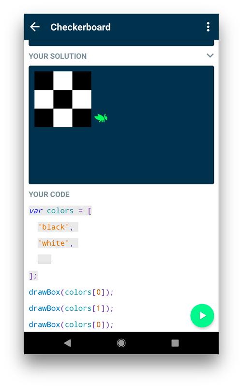 Grasshopper- coding apps for kids