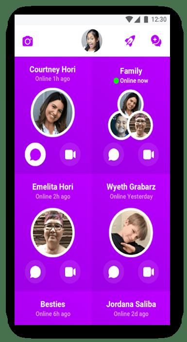 La migliore app per chat video compatibile con i bambini li tiene al sicuro