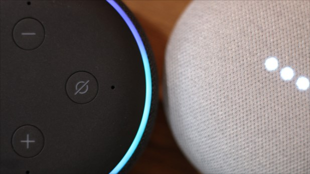echo dot 3 v google home mini- Alexa v Google Assistant