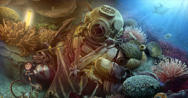Hidden object game - Abyss the Wraiths of Eden