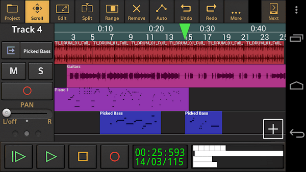 android music composer - audio evolution mobile studio