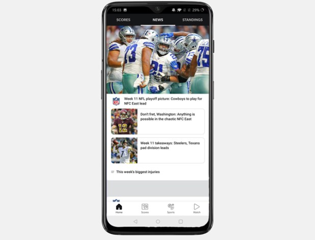 best thanksgiving apps- ESPN