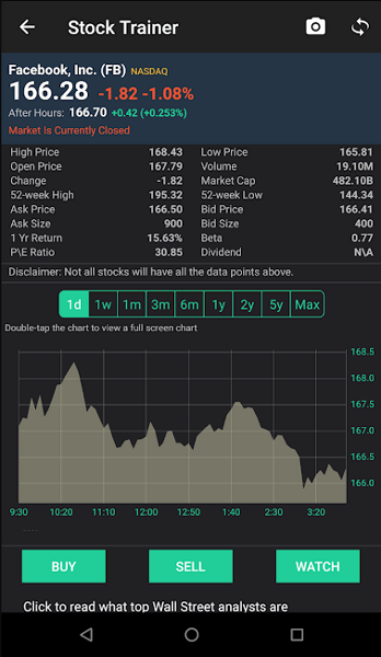 Best Stock Market Simulator Apps- stock trainer