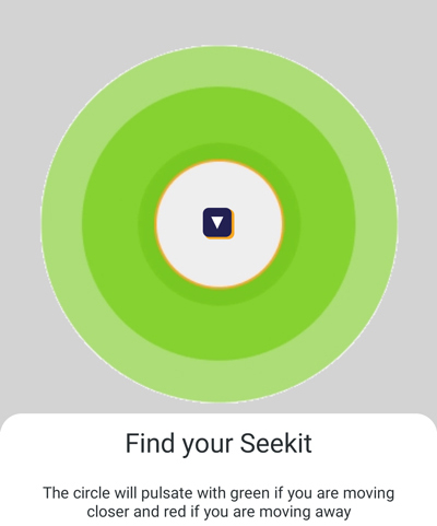 Panasonic Seekit Edge Review- proximity guidance