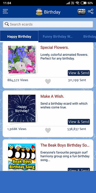 Greeting Cards & Wishes