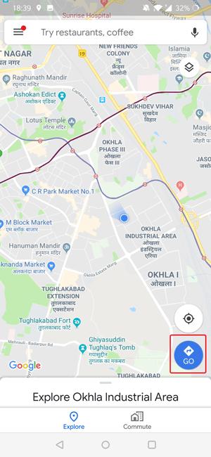 Google maps predict traffic