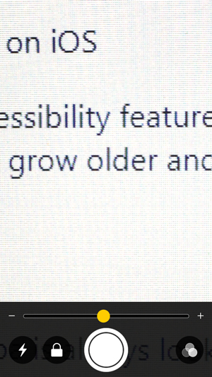 apps for old people- Magnifier