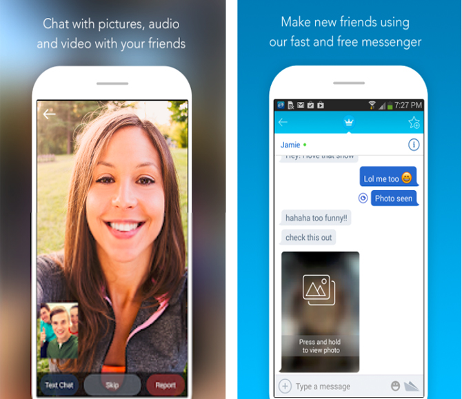 anonymous chat apps- chatous app screenshot