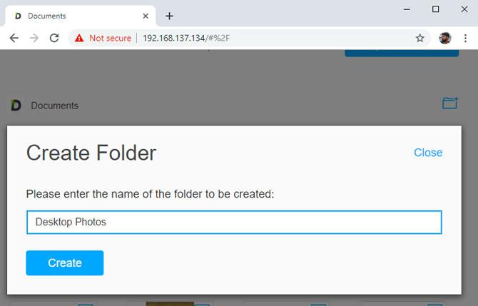 Transfer Foto dari PC ke iPhone tanpa iTunes - buat folder