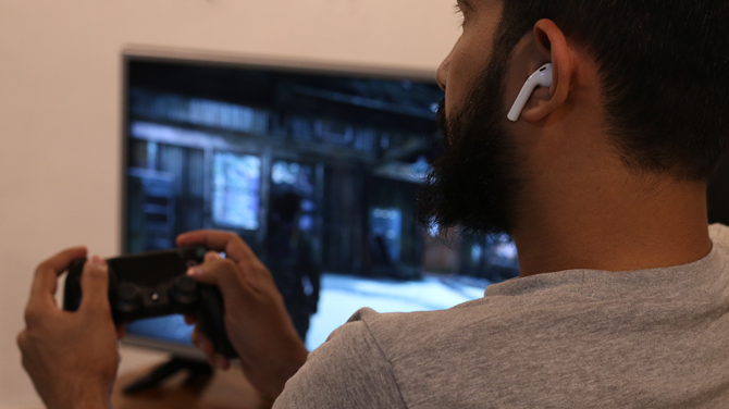 How to use AirPods with PS4 - playing PS4