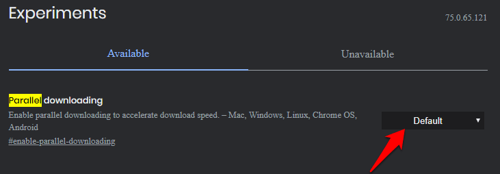 increase download speeds best chrome flags