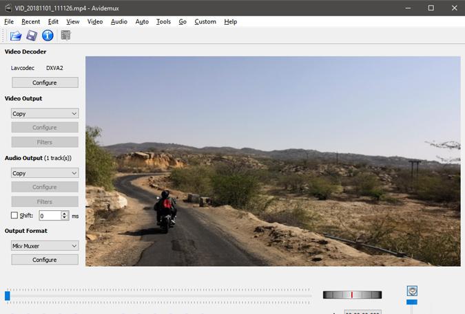 avidemux-video-editor