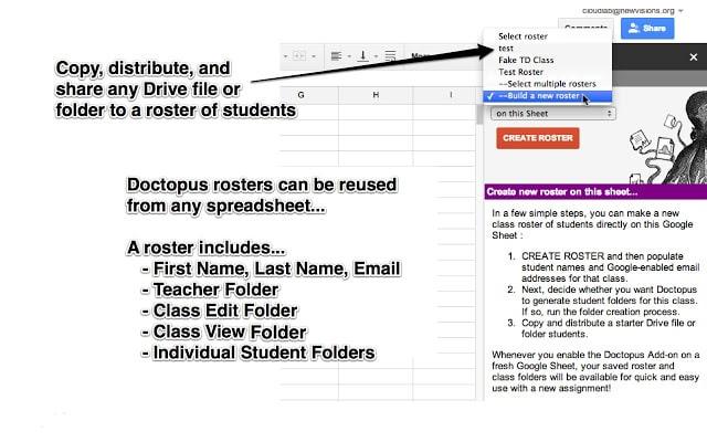 doctopus classroom workflow