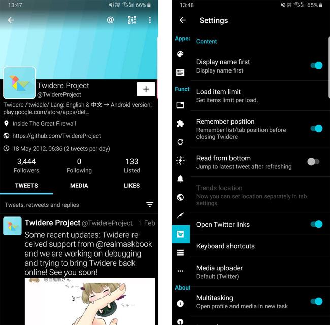 Twidere Twitter App