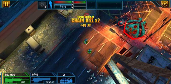 Gameplay of Global Outbreak