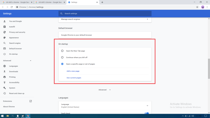 How to Restore Google Chrome Tabs After Restart