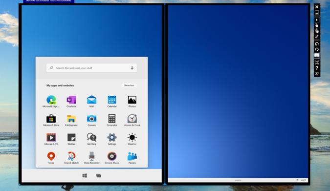 Using Windows 10X on Emulator on Windows