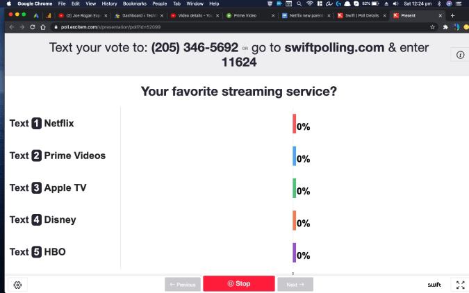 live_poll - zoom meeting polls