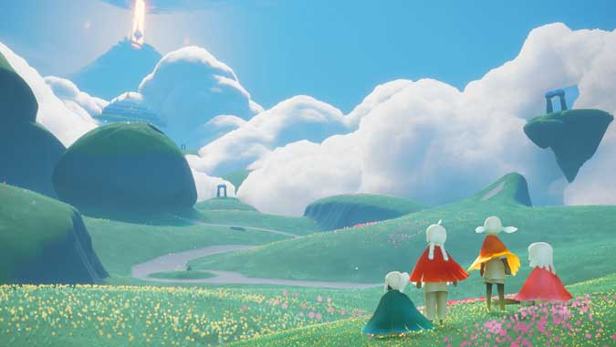 sky with impeccable graphics and soundtrack