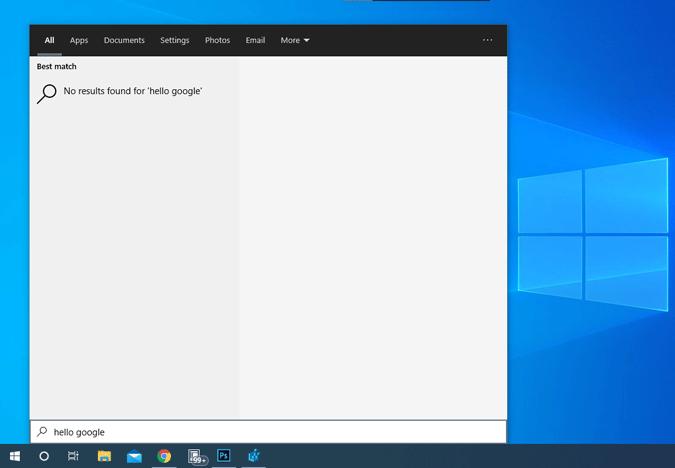 no-web-results-on-start-menu