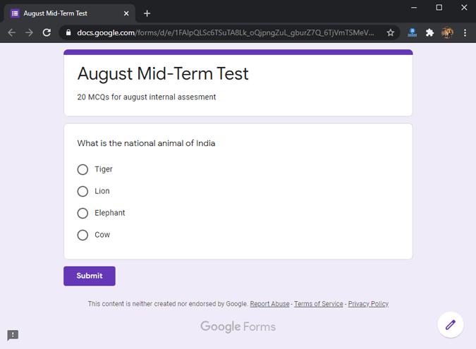 google-forms-online-quizzes