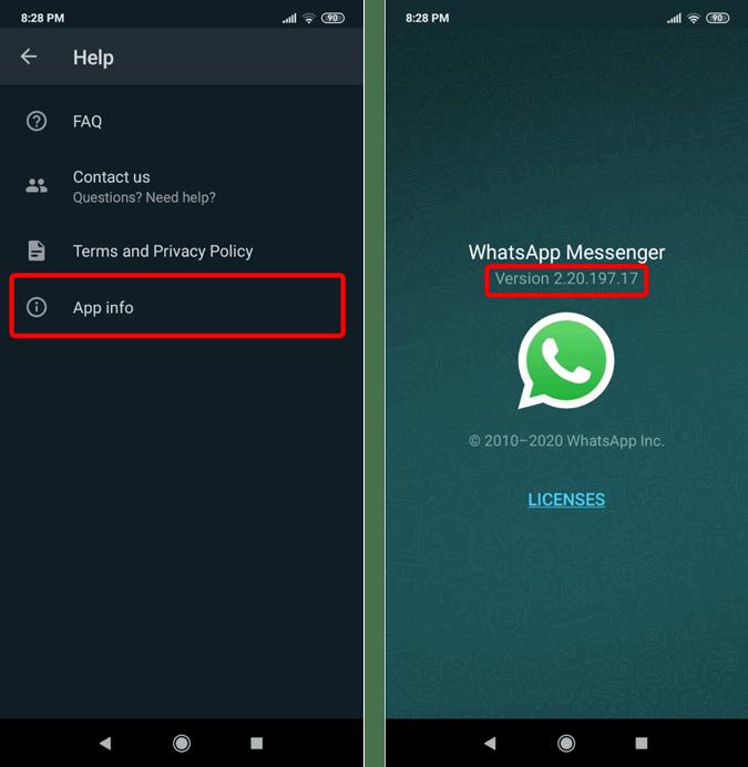 whatsapp-version-number