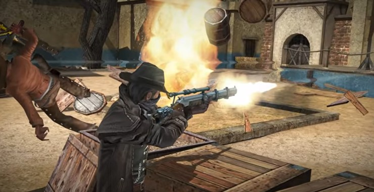 six guns open world game