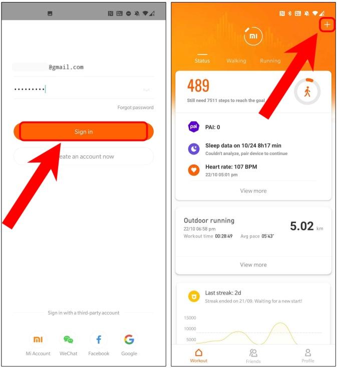 login-mi-fit-app