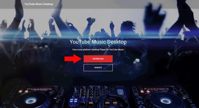 Downloading YouTube Music Desktop App
