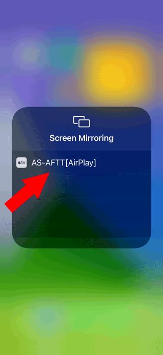 Screen Mirrroring to Fire TV using Airscreen app