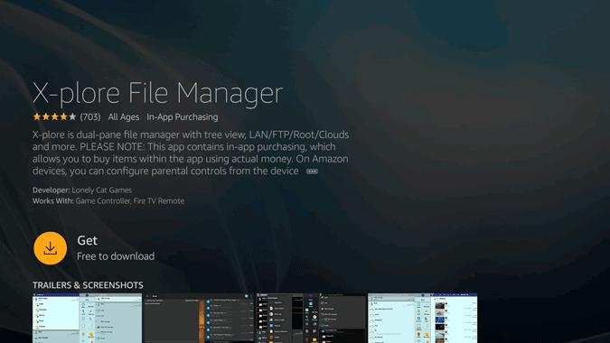 x-plore file manage app
