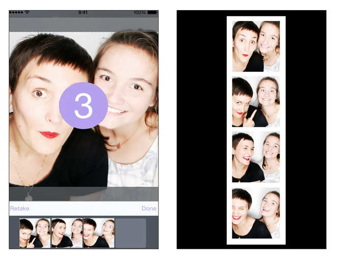 Simple Photo Booth App
