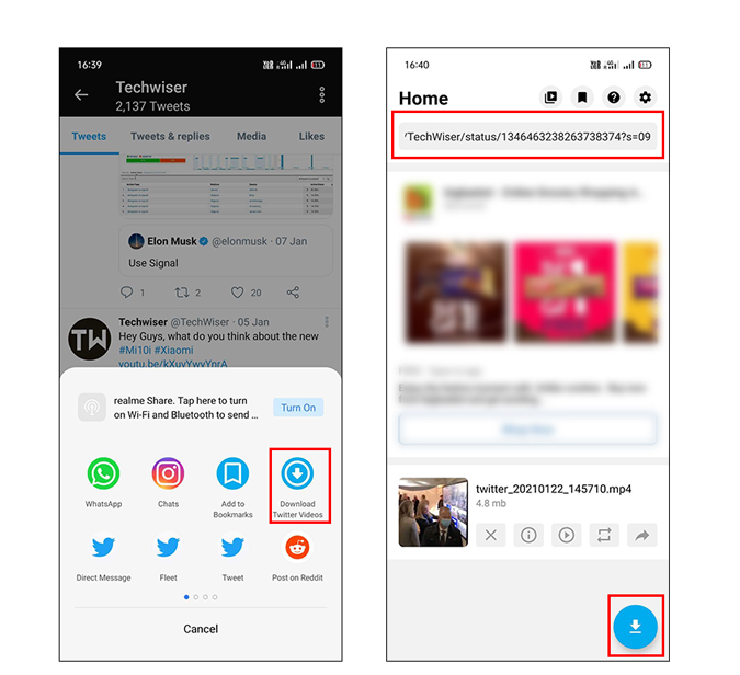 Download Twitter video app