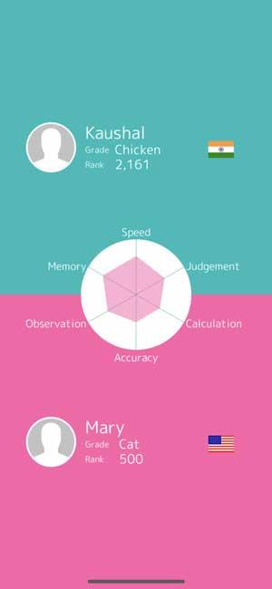 brain wars: multiplayer brain exercise  ios game