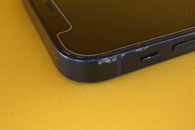 iPhone 12 mini scuffed on the edges