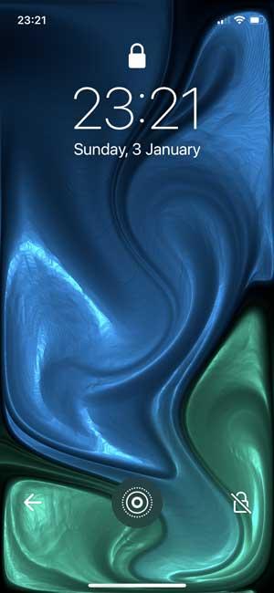 gravity fluid simulator- live wallpaper for iphone
