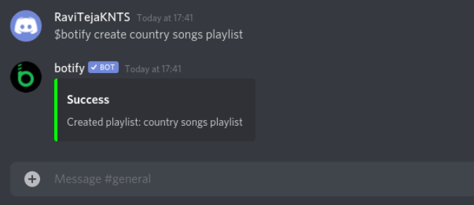 Creating Playlist in Botify