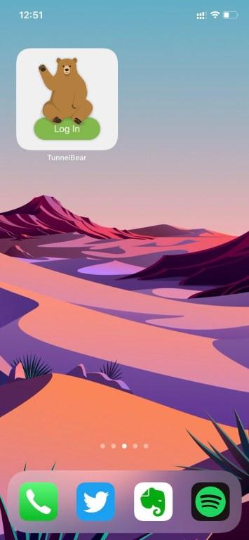 tunnelbear vpn app