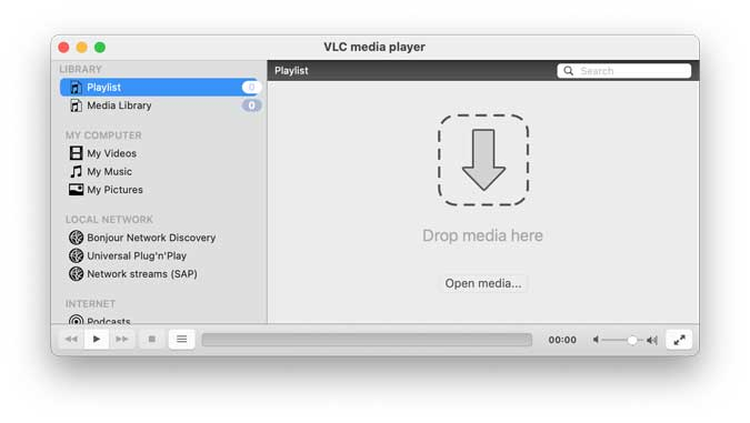 VLC media player for macOS