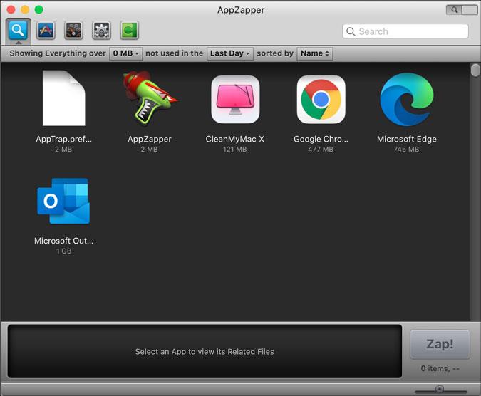 appzapper for mac app uninstallation settings