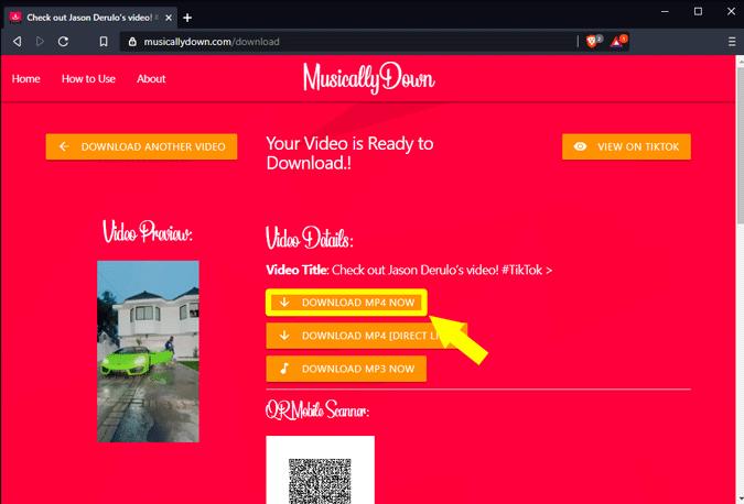 download tiktok videos from PC