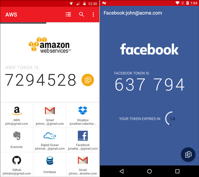authy for android setup