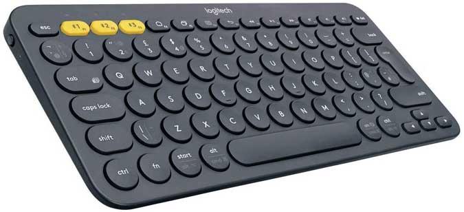 logitech keyboard with round keys