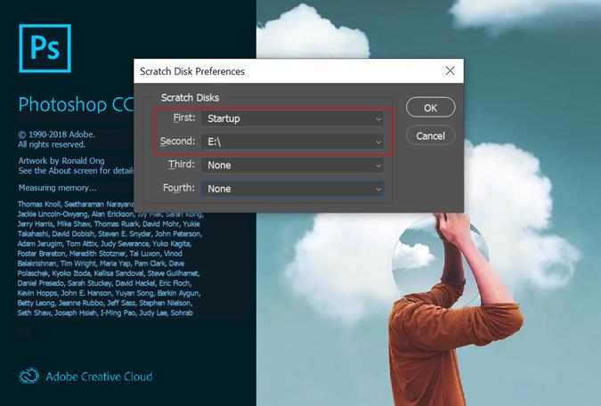Scratch Disk Preferences