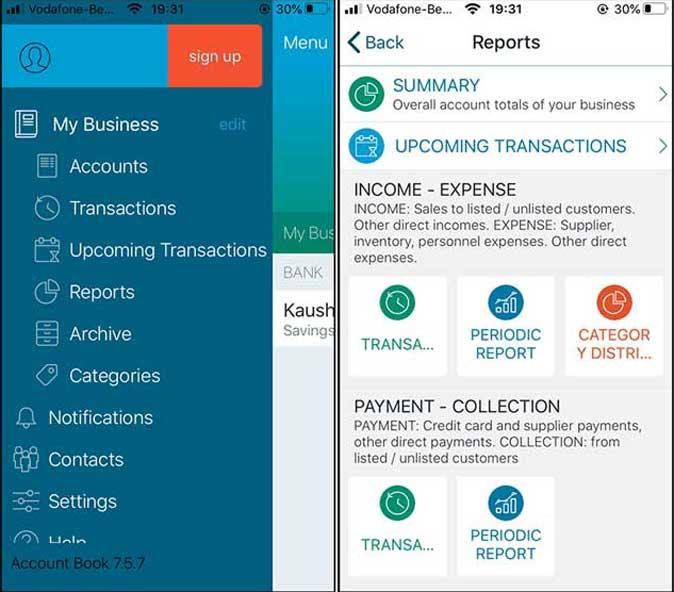 account book- best home budget app
