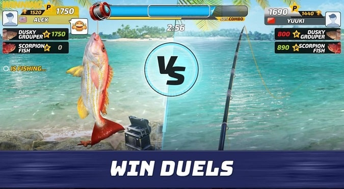 Best fishing game android
