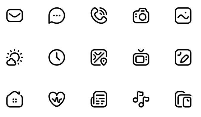 flaticons- free ios 14 icon pack